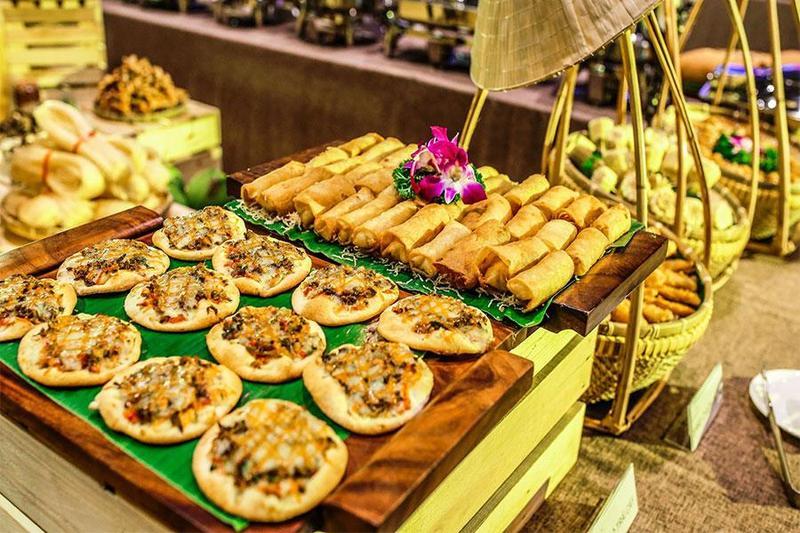 """Bật mí những món ăn làm """"siêu lòng"""" thực khách khi tổ chức tiệc buffet chay"""