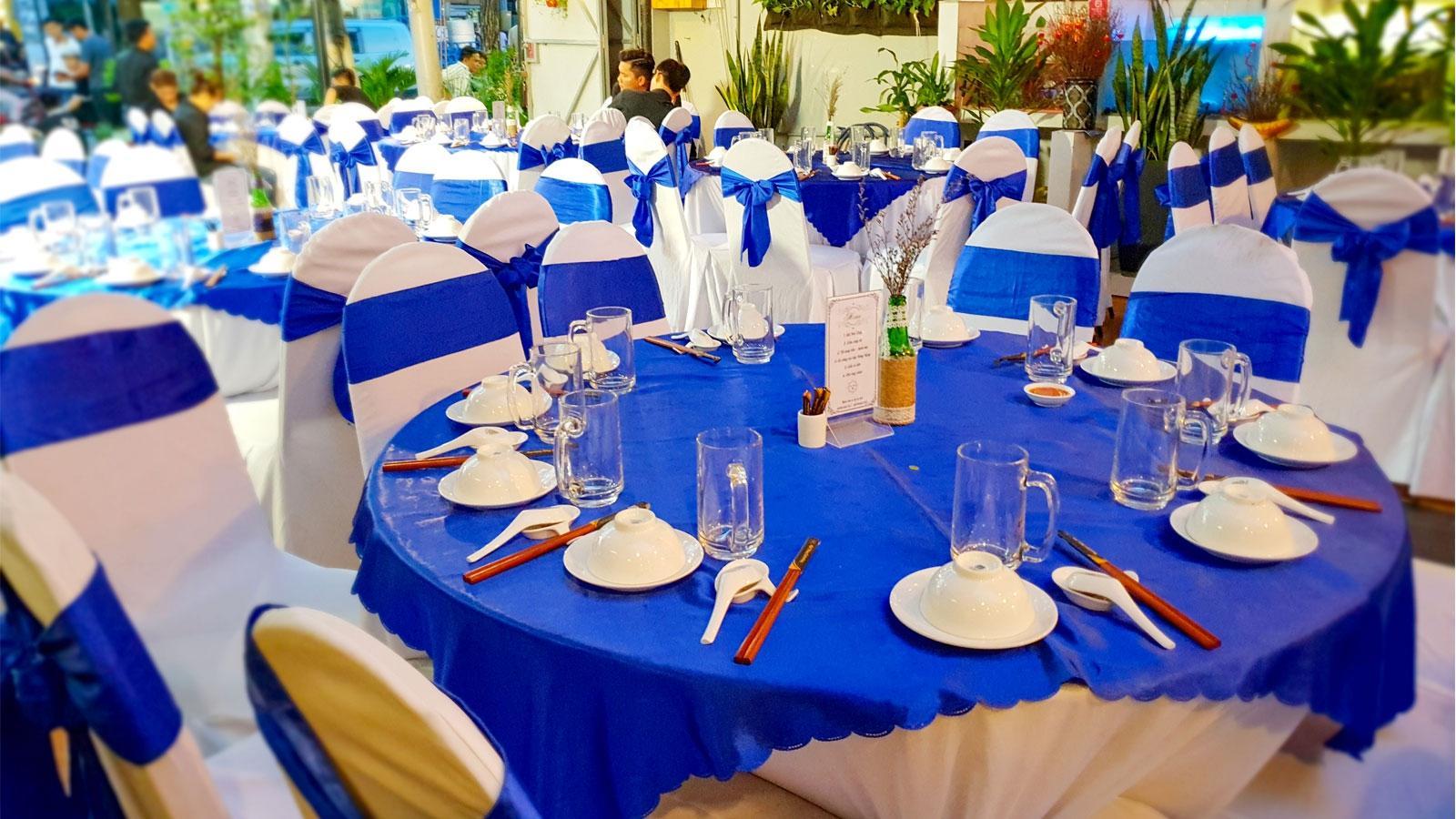 Xứng tầm 5 sao với dịch vụ tổ chức tiệc hội nghị Hai Thụy catering